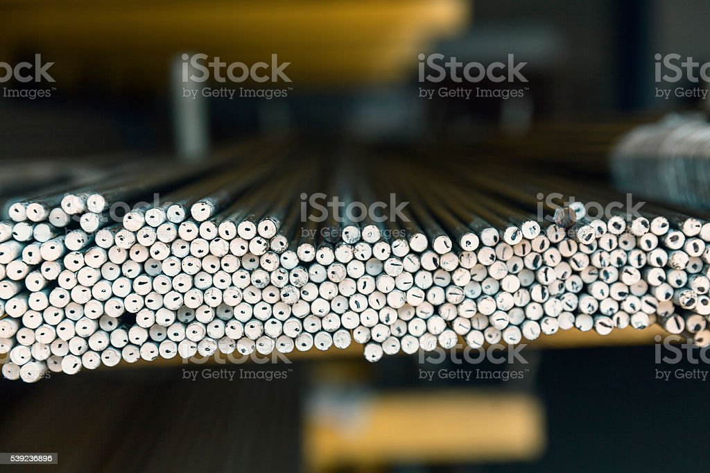 metal pipes close up royalty-free stock photo