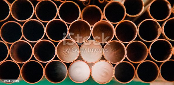 istock Metal pipes 939038838