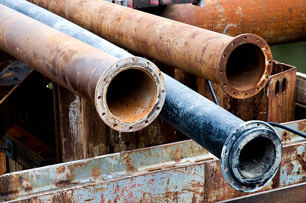 metal pipes - deaden stock pictures, royalty-free photos & images