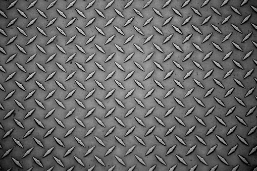 istock Metal plate background industrial sheet surface 833758098
