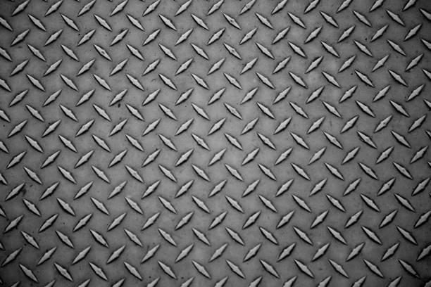 metal plate background industrial sheet surface - steel stock photos and pictures