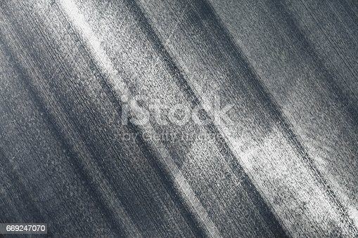 istock Metal plate background 669247070