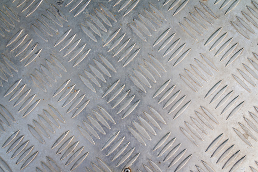 metal plate dirty in silver color