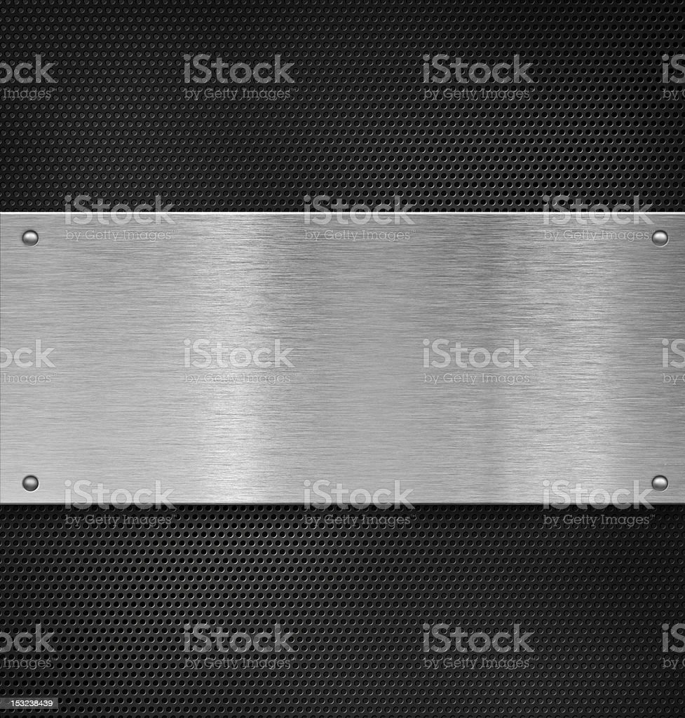 metal plate over grate royalty-free stock photo