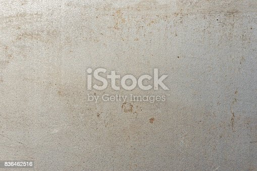 istock Metal plate place for text 836462516