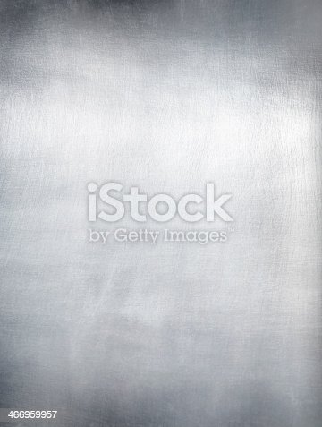 istock Metal plate steel background. 466959957