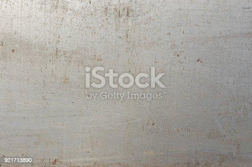 istock Metal plate texture, clean metal plate 921713890