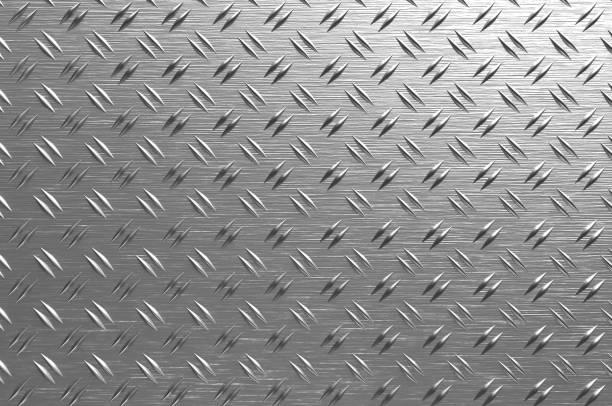 Metal Plate Texture stock photo