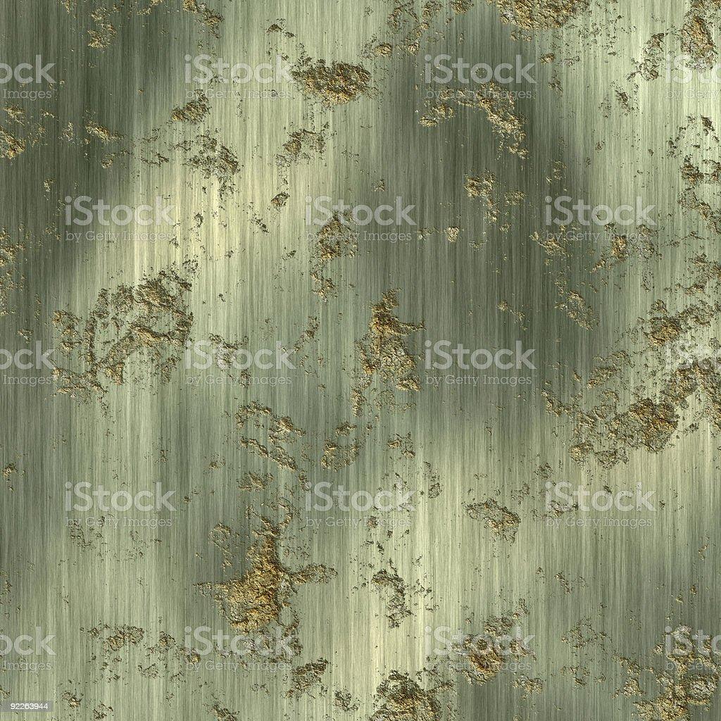 Metallschild mit Rost – Foto