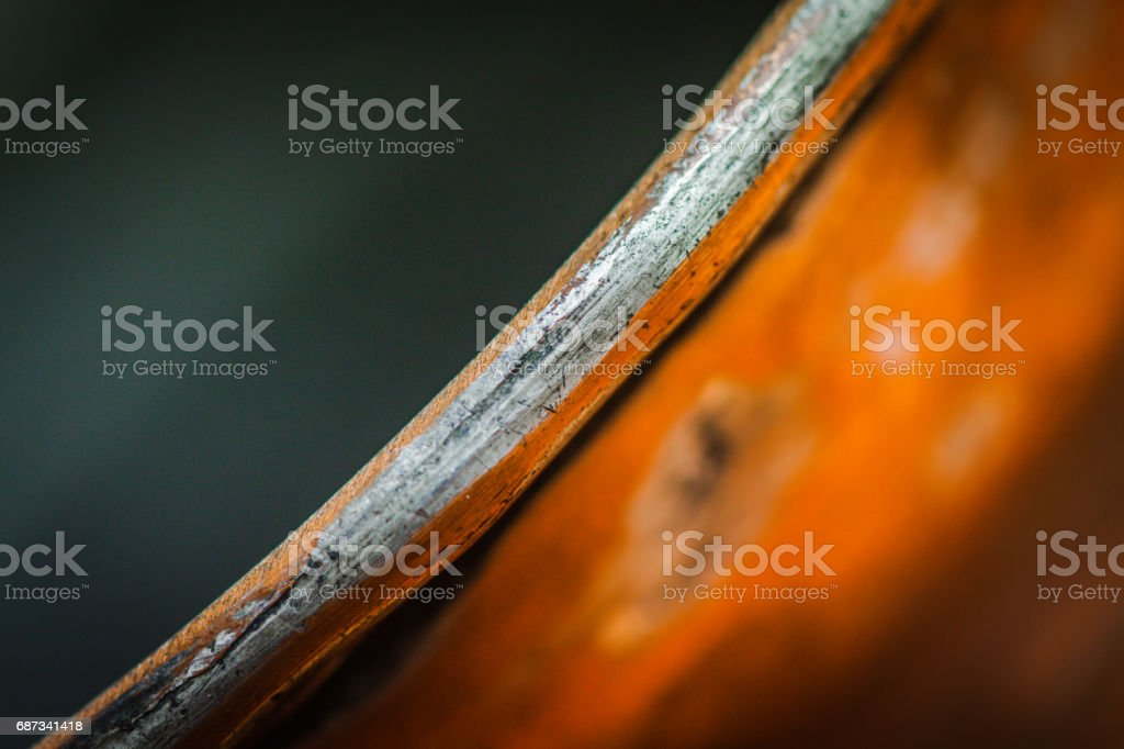 metal pot close-up stock photo