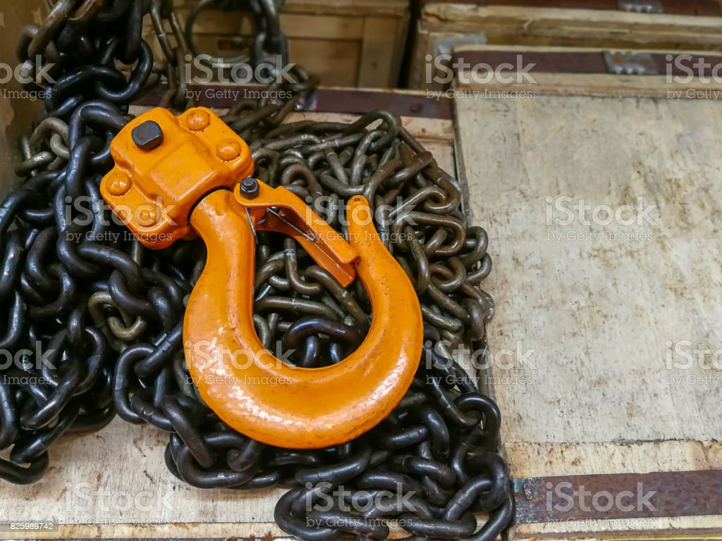 Metal, Powder Compact, Rope, Single Object, Steel stock photo