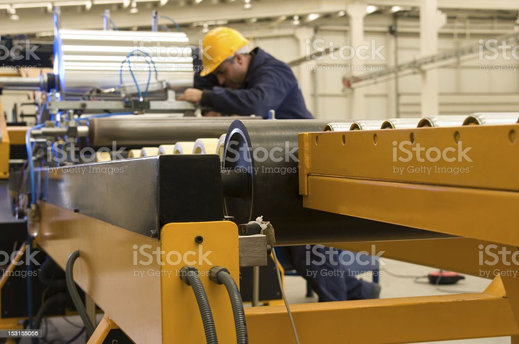 Metal Processing stock photo