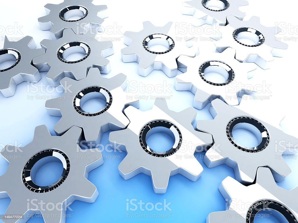 metal ratchets royalty-free stock photo