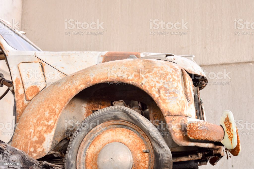 Metal Ready for Recycling stock photo