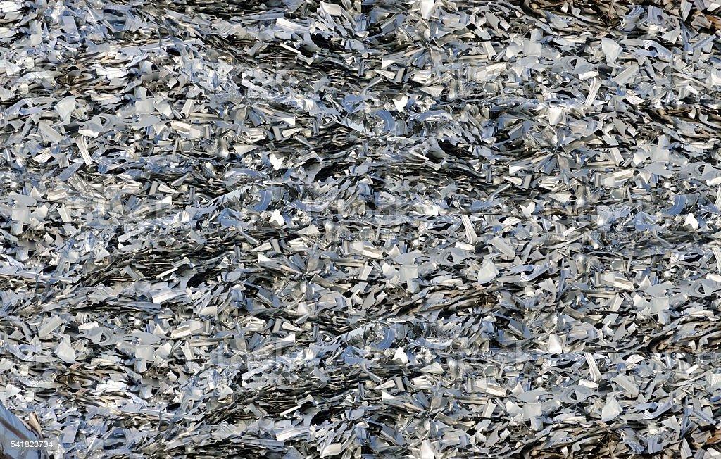 Metal Recycling Scarp stock photo