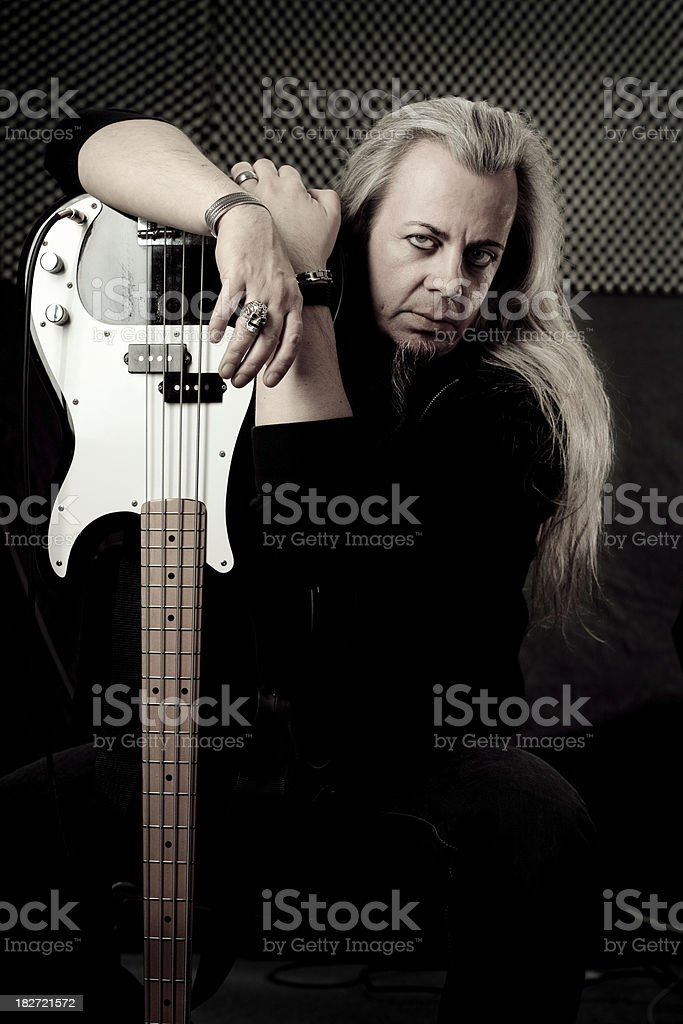 Metal | Rock and Roll Portrait stock photo