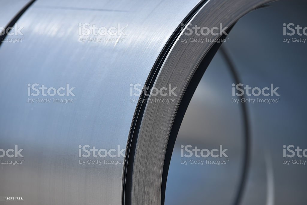 Metal roll stock photo
