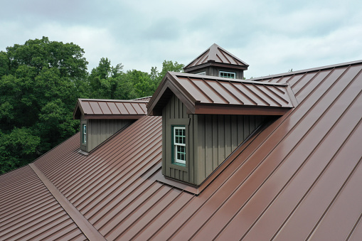 This is one amazing metal roof.