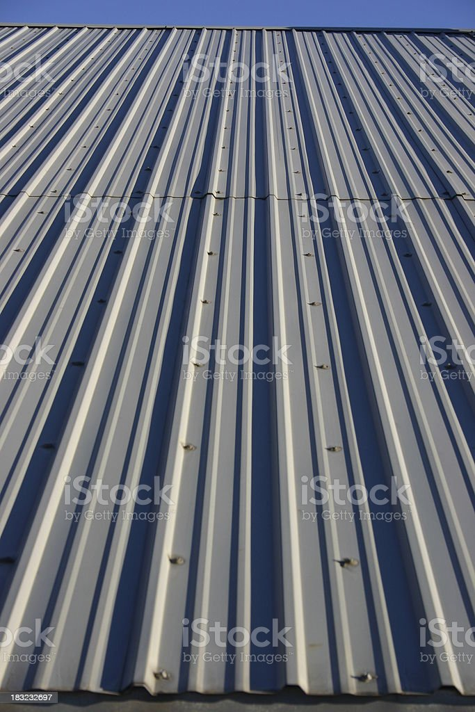 Metal roof #1 royalty-free stock photo
