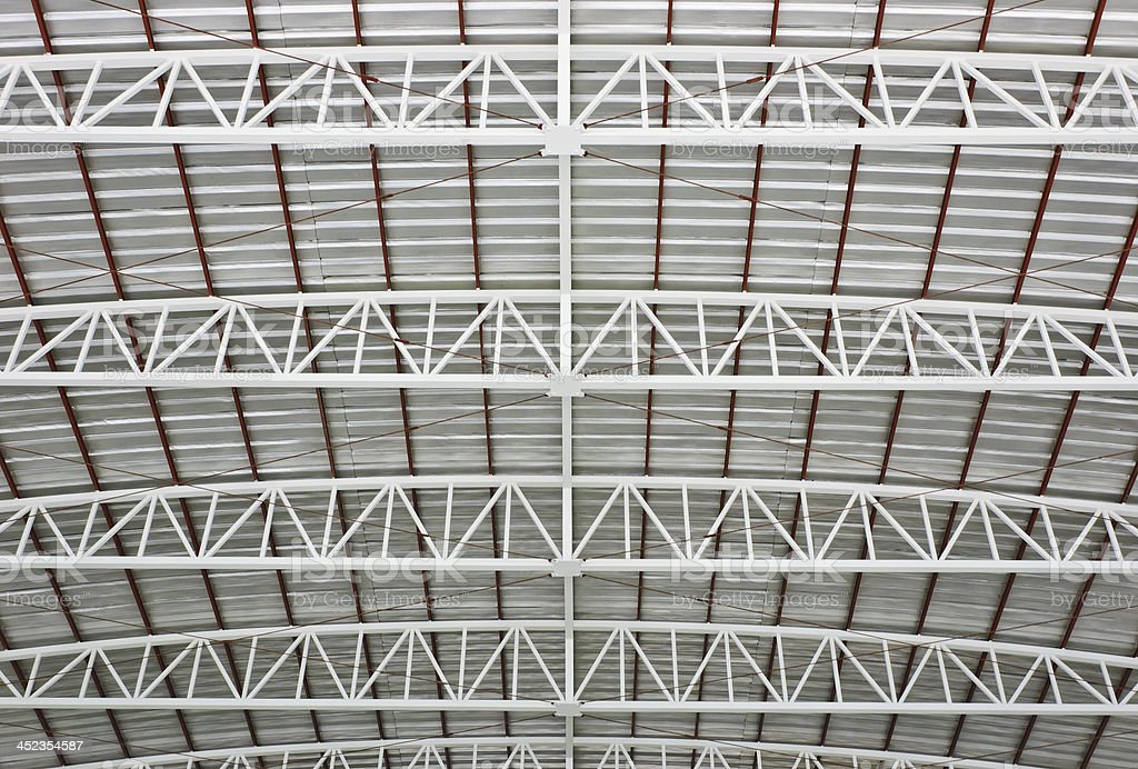Metal roof royalty-free stock photo