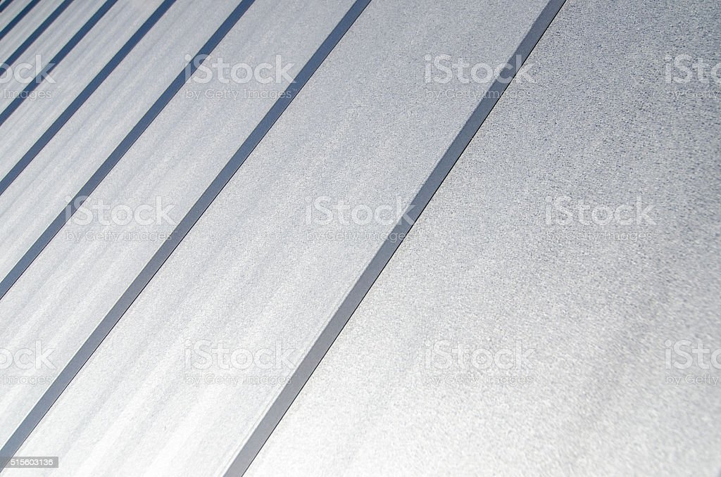 Metal Roof stock photo