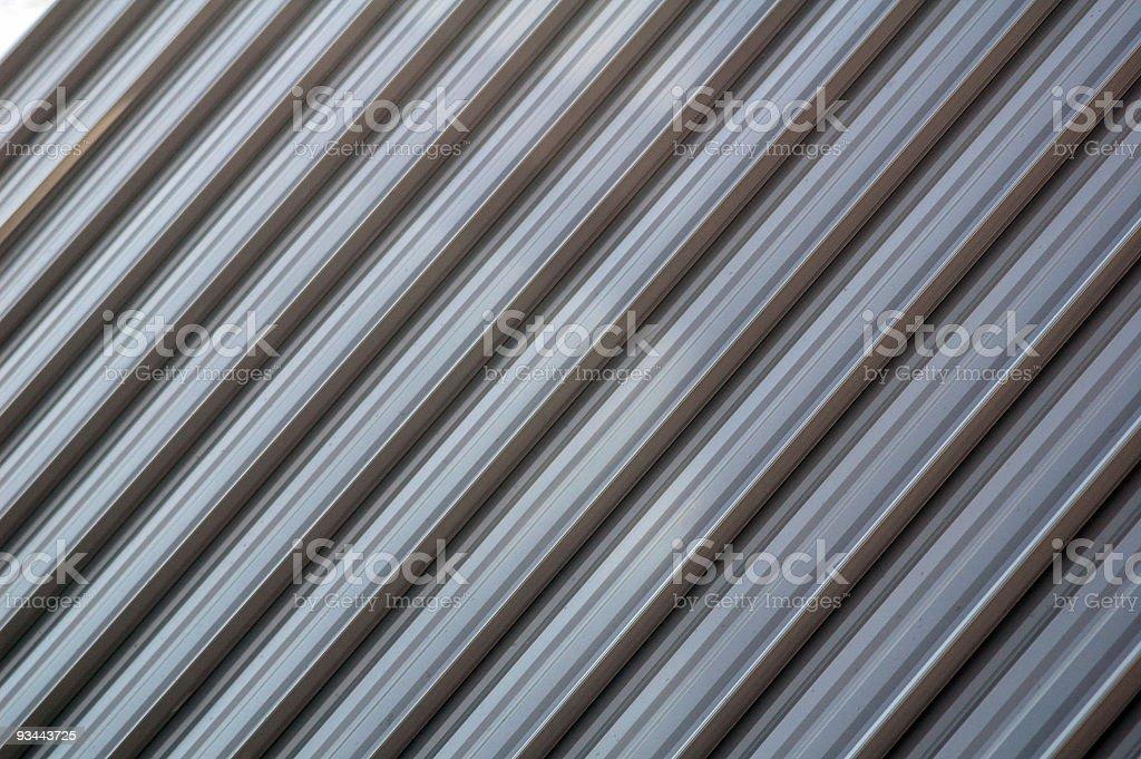 Metall-Dach Lizenzfreies stock-foto