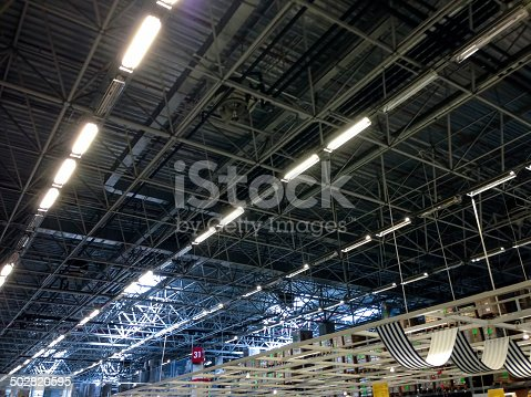 182889461 istock photo metal roof structure 502820595