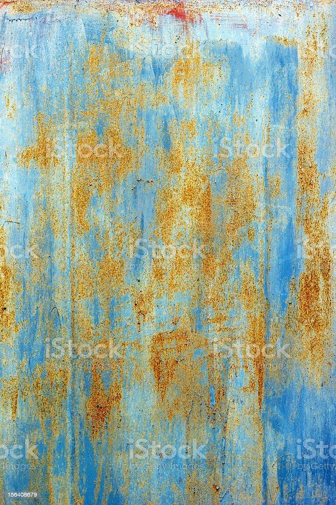 Metal Rusty Texture Background Door royalty-free stock photo