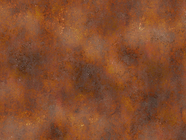 metal rusty texture. painted backgrounds - rusty stock photos and pictures