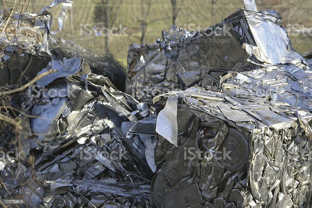 metal scrap royalty-free stock photo