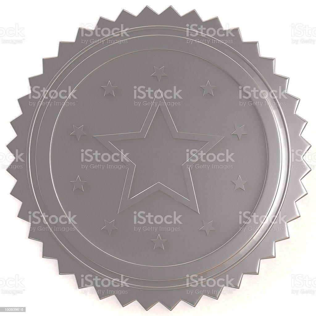Metal Seal royalty-free stock photo