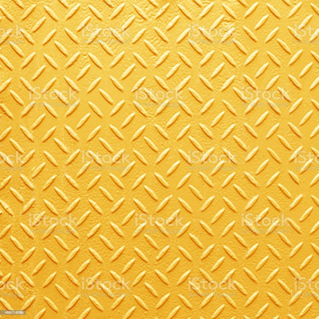 Metal seamless steel diamond plate texture pattern background stock photo