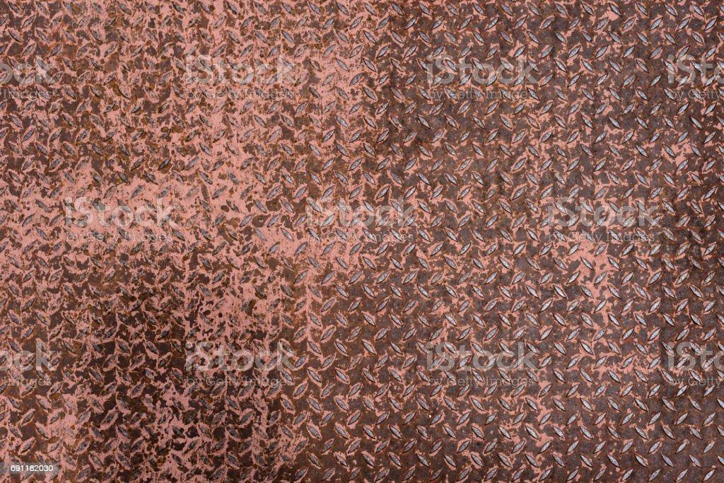 Blech Mit Rost Texturhintergrund Stockfoto Und Mehr Bilder Von