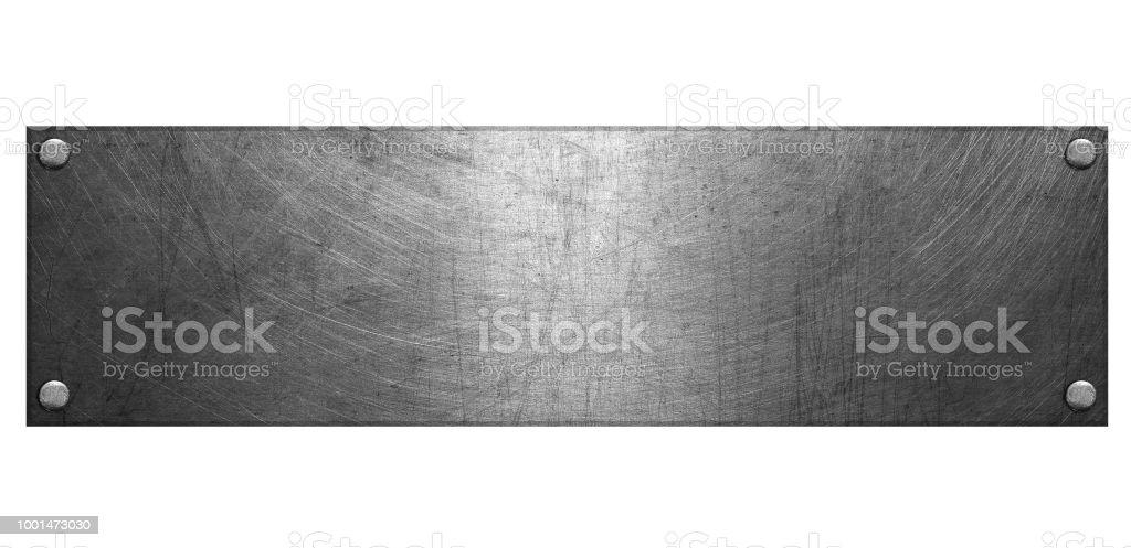 Metall Schild – Foto