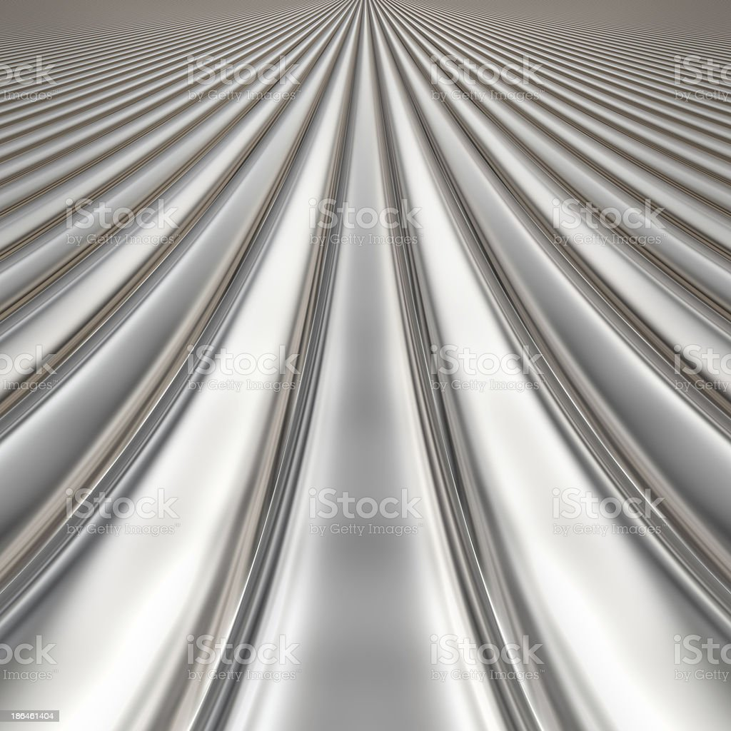 Metal silver striped pattern royalty-free stock photo