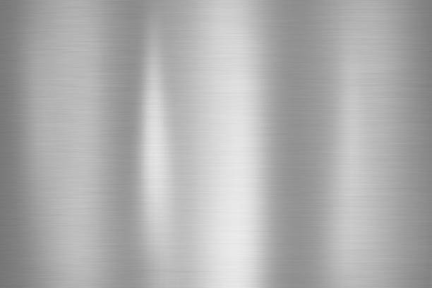metal stainless texture background - alluminio foto e immagini stock