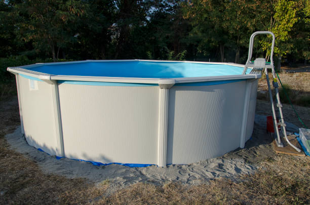 Best Free Standing Swimming Pool Stock Photos, Pictures ...