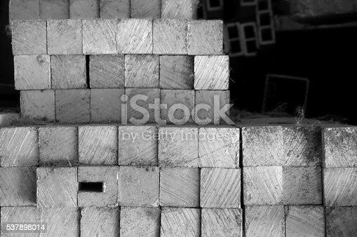 687475318 istock photo metal stock in warehouse 537898014