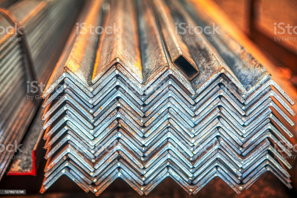 Metal profile and steel for construction