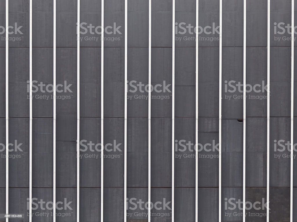 Metal striped wall texture stock photo