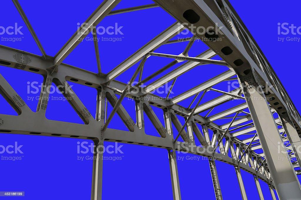 Estructura Metálica Del Puente Foto De Stock Y Más Banco De