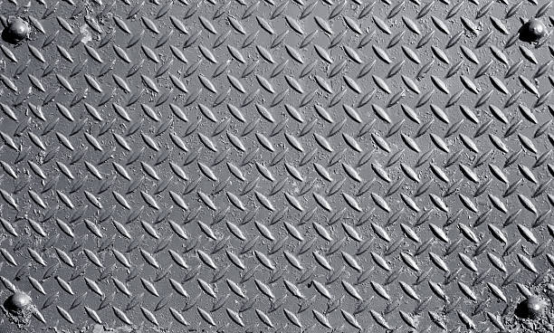 metal surface - diamond plate background stock photos and pictures
