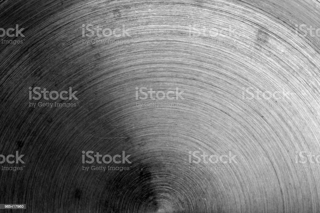 Metal surface with scratches in black and white royalty-free stock photo
