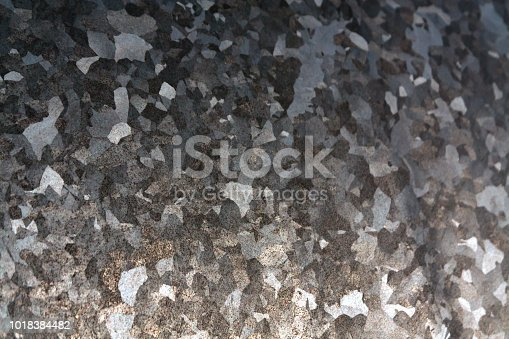 istock Metal surface with scratches. 1018384482