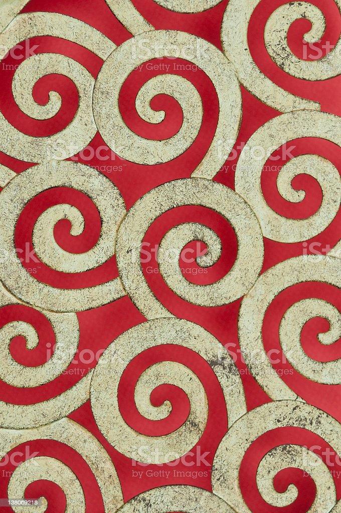 Metal Swirl Pattern royalty-free stock photo