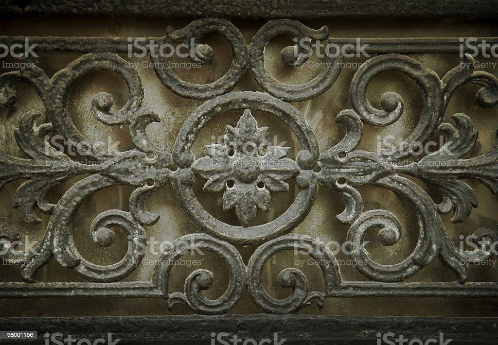 Metal swirls royalty-free stock photo