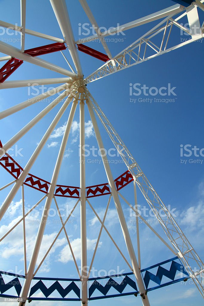 Metal Teepee stock photo