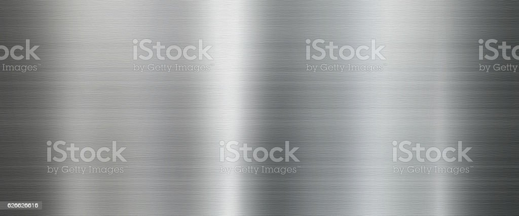 Metal texture background in silver stock photo
