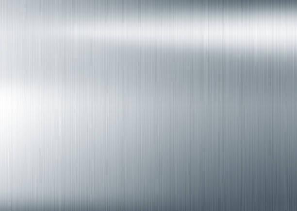 textura de metal fundo - cromo metal - fotografias e filmes do acervo