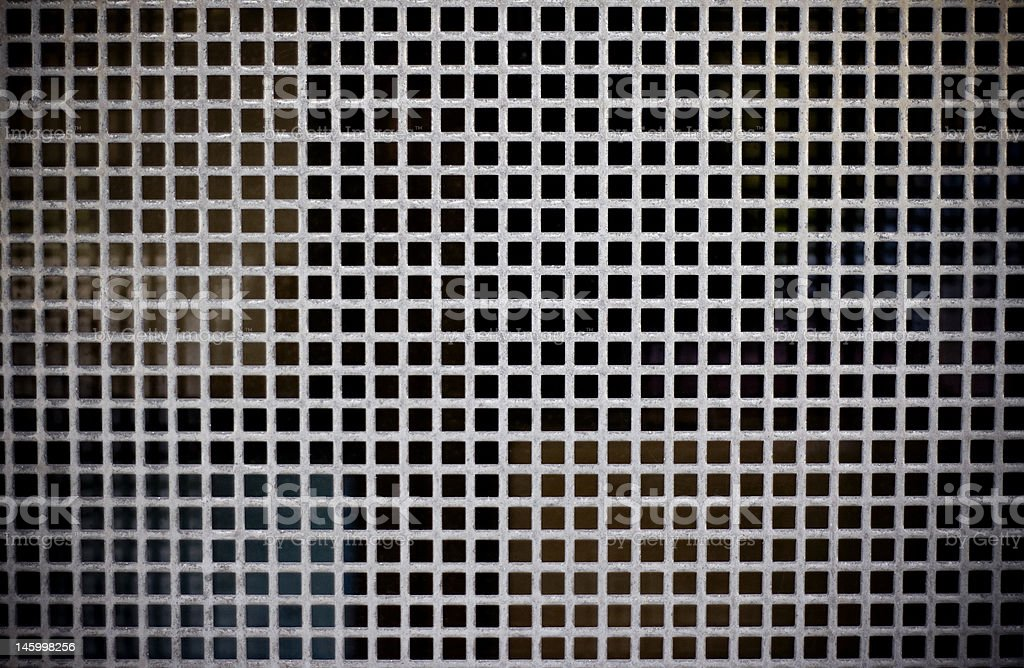 metal texture background with squares royalty-free stock photo